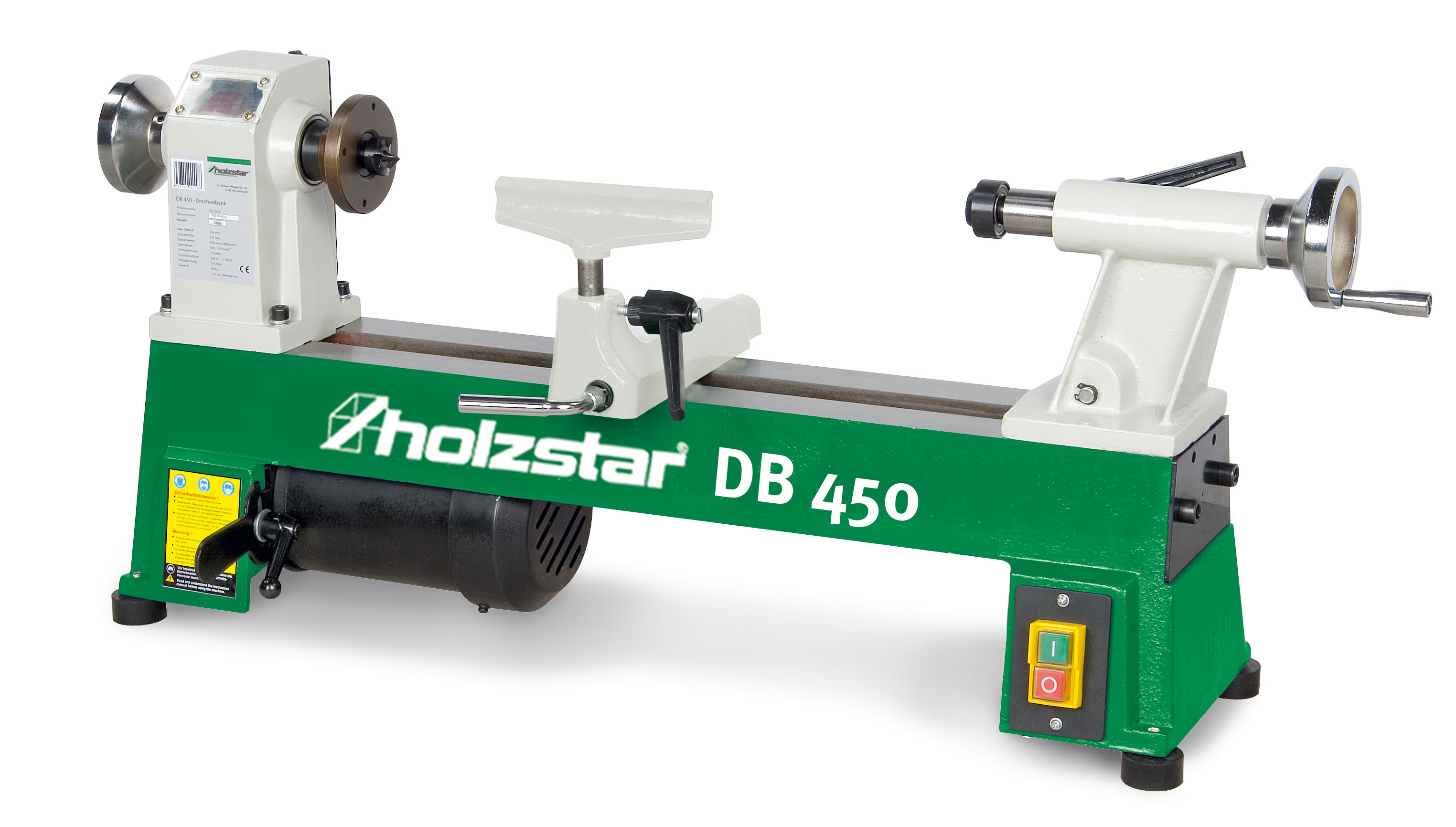 HOLZSTAR DB 450 DRECHSELBANK
