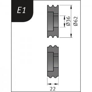 BIEGEROLLEN TYP E1