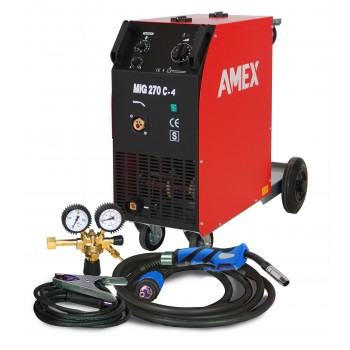 AMEX MIG 270 C-4 SCHUTZGAS-SCHWEISSANLAGE / SET