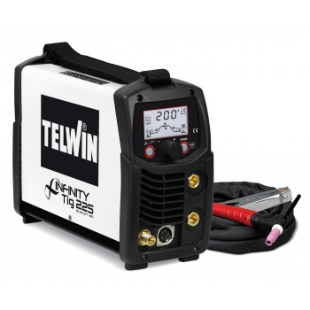 TELWIN TECHNOLOGY TIG 225 DC/HF VDR SCHWEISSANLAGE