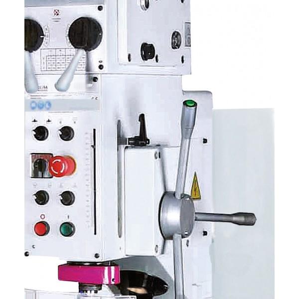 Elektrischer Pinolenvorschub, durch Taster Ein - Ausschaltbar