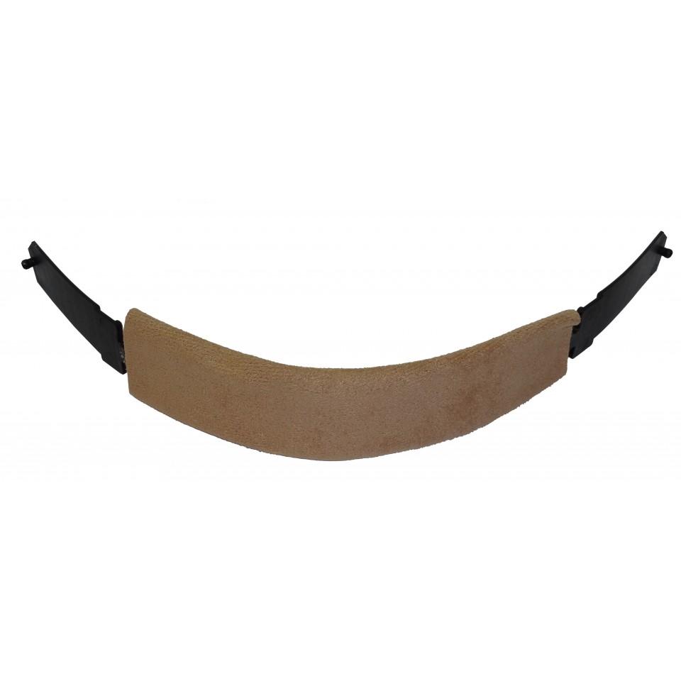 1662005 Kopfband vorderer Teil inklusive Schwei/ßband aus Leder